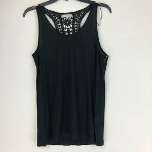 1. STATE Womens Tank Top Black M